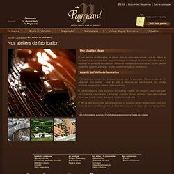 Nos ateliers de fabrication - L'entreprise - Chocolaterie Puyricard