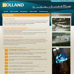 Remorques AGRICOLES Rolland