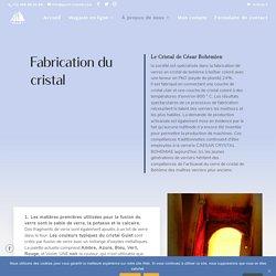 Fabrication du cristal - GULET CRYSTAL - motifs uniques