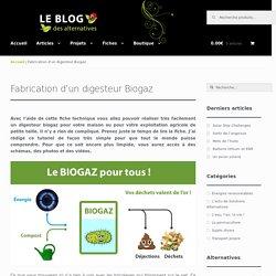 Fabrication d'un digesteur Biogaz -