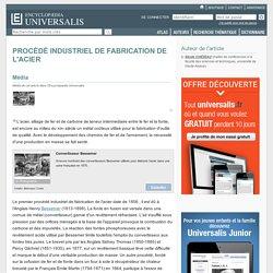 PROCÉDÉ INDUSTRIEL DE FABRICATION DE L'ACIER
