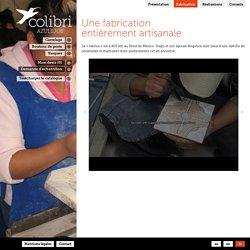 Une fabrication entièrement artisanale // Colibri Azulejos