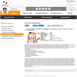 Fabrication de vêtements sur mesure - couturier - Tailleur