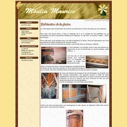 Fabrication de la farine artisanale