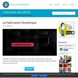 MOOC La fabrication Numérique