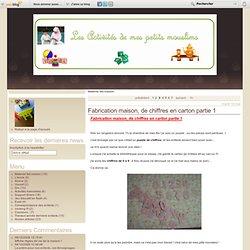 Materiel fait maison - Fabrication maison,… - jeux de formes… - comment fabriquer… - Plus de cartable, ou un blog sur l'instruction en famille