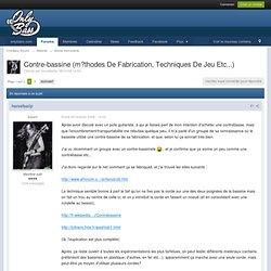 Contre-bassine (m?thodes De Fabrication, Techniques De Jeu Etc...) - Autres instruments - OnlyBass [forum]