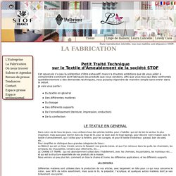 La Fabrication - La Fabrication - STOF - Laura Lancelle Paris