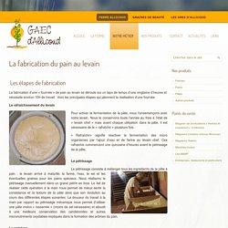 La fabrication du pain au levain – Ferme d'Allicoud