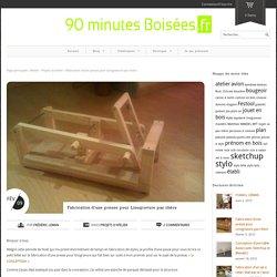 Fabrication d'une presse pour Linogravure pas chère - 90' Boisées90' Boisées