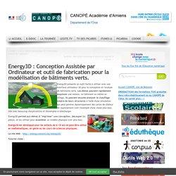 Energy3D : Conception Assistée par Ordinateur et outil de fabrication pour la modélisation de bâtiments verts.