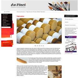 Fabrication - Pinceau d'Artiste - www.davinci-defet.com