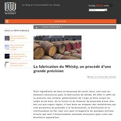 La fabrication du Whisky, un procédé d'une grande précision - Le Monde du Whisky