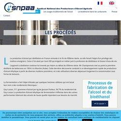 Les procédés de fabrication pour la production de bioéthanol