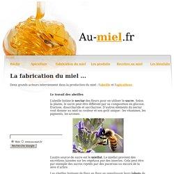 Récolte, fabrication du miel, production, extracteur de miel sur Au Miel.fr