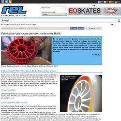 Fabrication des roues de roller visite chez Diptal RollX