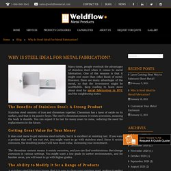 Why Is Steel Ideal For Metal Fabrication?