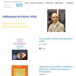 Fabrice Midal – Livres – Une Journée Pour Apprendre À Méditer