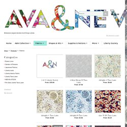Ava & Neve Liberty Art Fabrics Brisbane