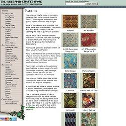 Fabrics - Decoration - Arts & Crafts Home
