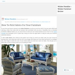 Wicker Paradise - Wicker Furniture Review
