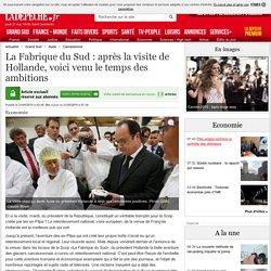 La Fabrique du Sud : après la visite de Hollande, voici venu le temps des ambitions - 21/05/2015 - ladepeche.fr