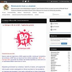La fabrique à BD de la BnF, l'application gratuite