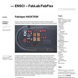 Fabrique HACKTION | ENSCI – FabLab
