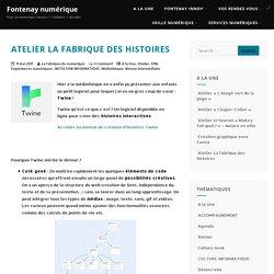 Atelier La fabrique des histoires – Fontenay numérique