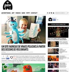 Un site fabrique de vraies peluches à partir des dessins de vos enfants