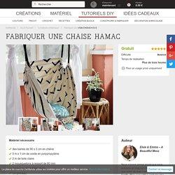 Fabriquer une chaise hamac