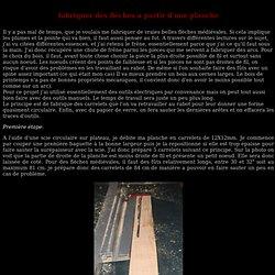fabriquer une flèche à partir d'une planche