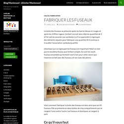 Blog Montessori : L'Atelier Montessori