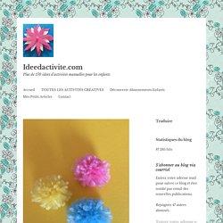 Tuto : Fabriquer des pompons – Ideedactivite.com