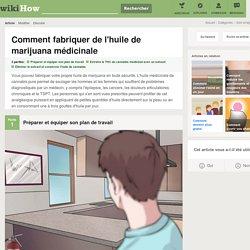 Comment fabriquer de l'huile de marijuana médicinale