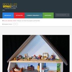 Fabriquer une maison de poupée ou de Playmobil - Bidouilles IKEA