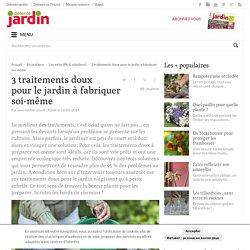 Fabriquer ses produits de traitement bio et doux pour le jardin