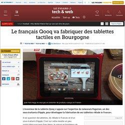 Le français Qooq va fabriquer des tablettes tactiles en Bourgogne