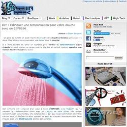 Fabriquer une temporisation pour votre douche avec un ESP8266