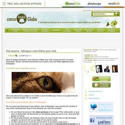 Fait maison : fabriquez votre litière pour chat Consommer Durable