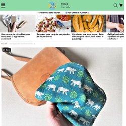 Tuto couture : fabriquez des mouchoirs en tissu lavables et réutilisables