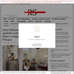 Don Fabrizio Loschi (FSSPX) dà qualche notizia dello Sri Lanka dopo i sanguinosi attentati di Pasqua