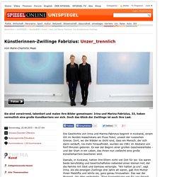 Irina und Marina Fabrizius: Die Künstlerinnen-Zwillinge