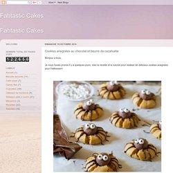 Fabtastic Cakes: Cookies araignées au chocolat et beurre de cacahuète