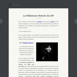 La FABuleuse histoire du DIY