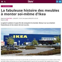 La fabuleuse histoire des meubles à monter soi-même d'Ikea