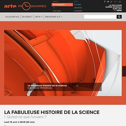 La fabuleuse histoire de la science