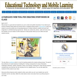 A Fabulous Web Tool for Creating Story Books in Class
