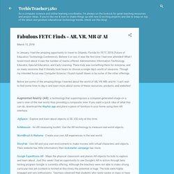 Fabulous FETC Finds - AR, VR, MR & AI