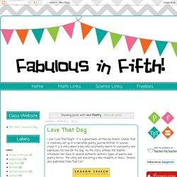 Fabulous in Fifth!: Poetry